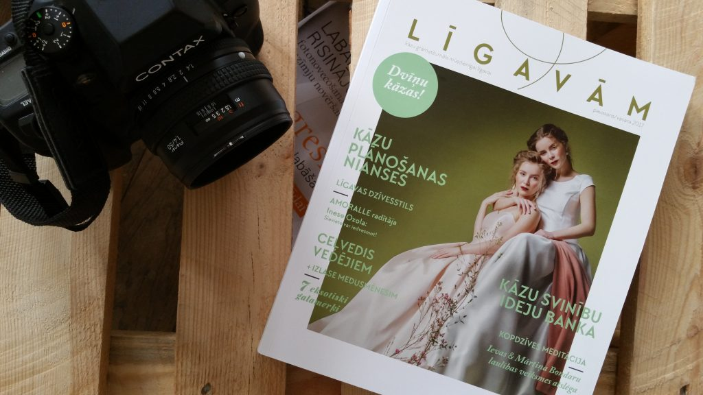 Latvian Wedding Magazine Ligavam