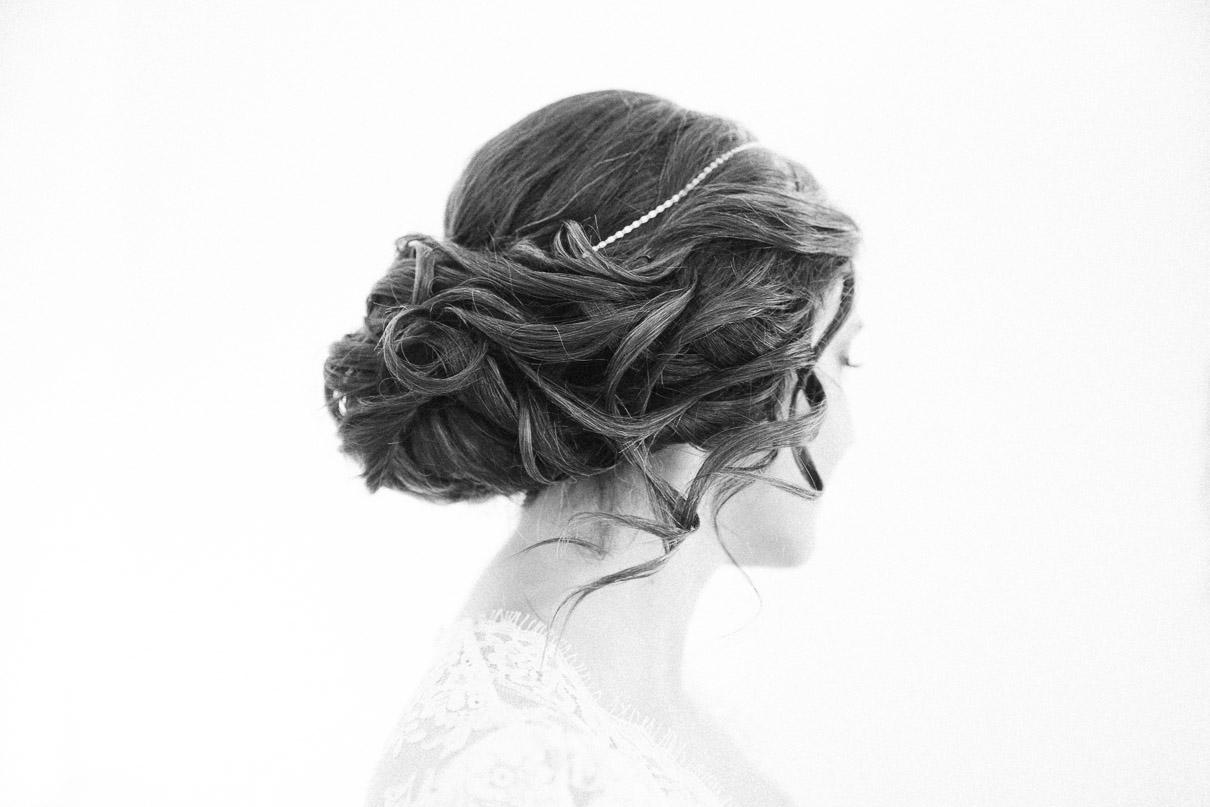 Bride-hairdo