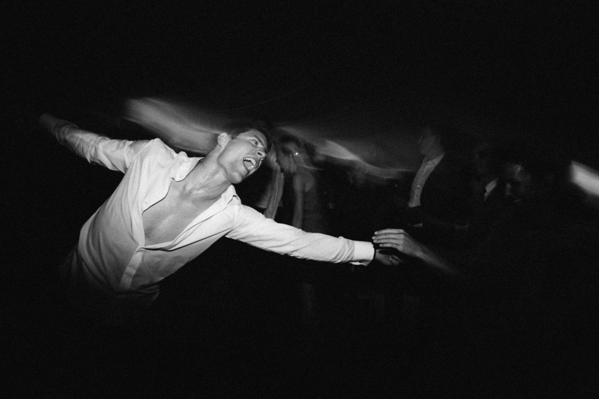 Dancing-groom