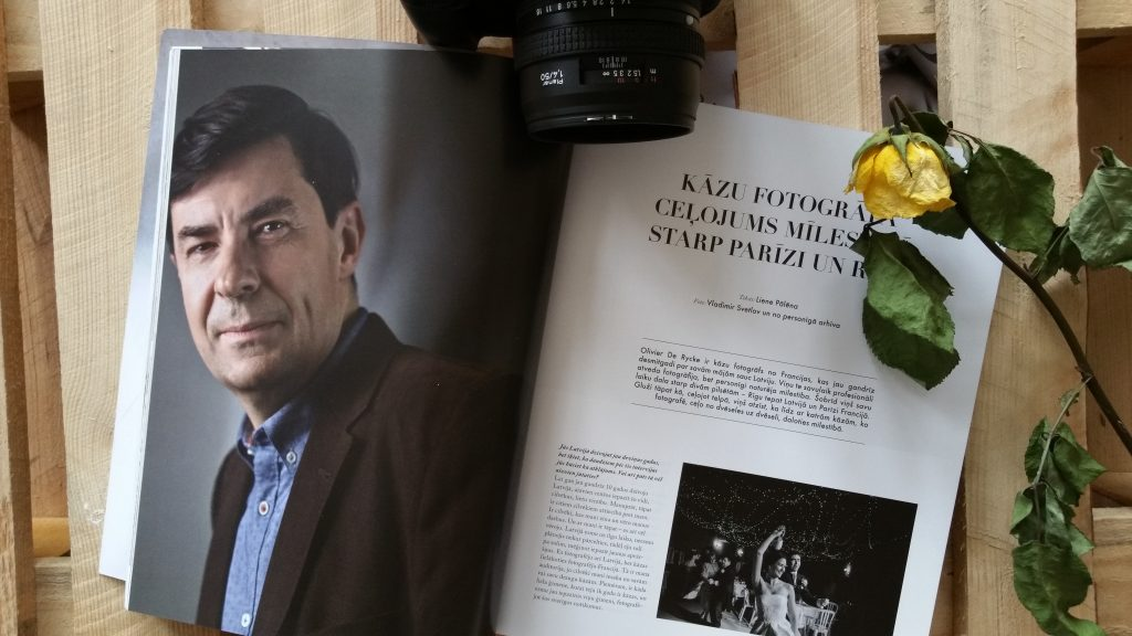 Latvian Wedding Magazine Ligavam Interview